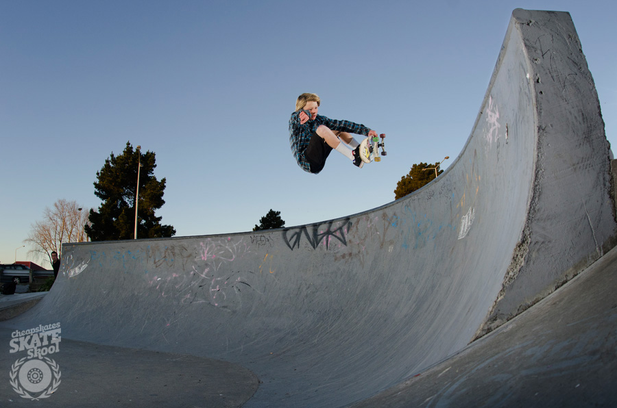 Vincent Bolt » Frontside Air