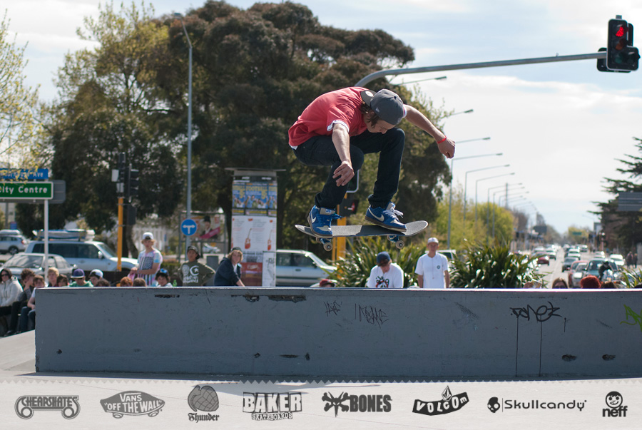 Nick Butcher » BS 180 down to the flat