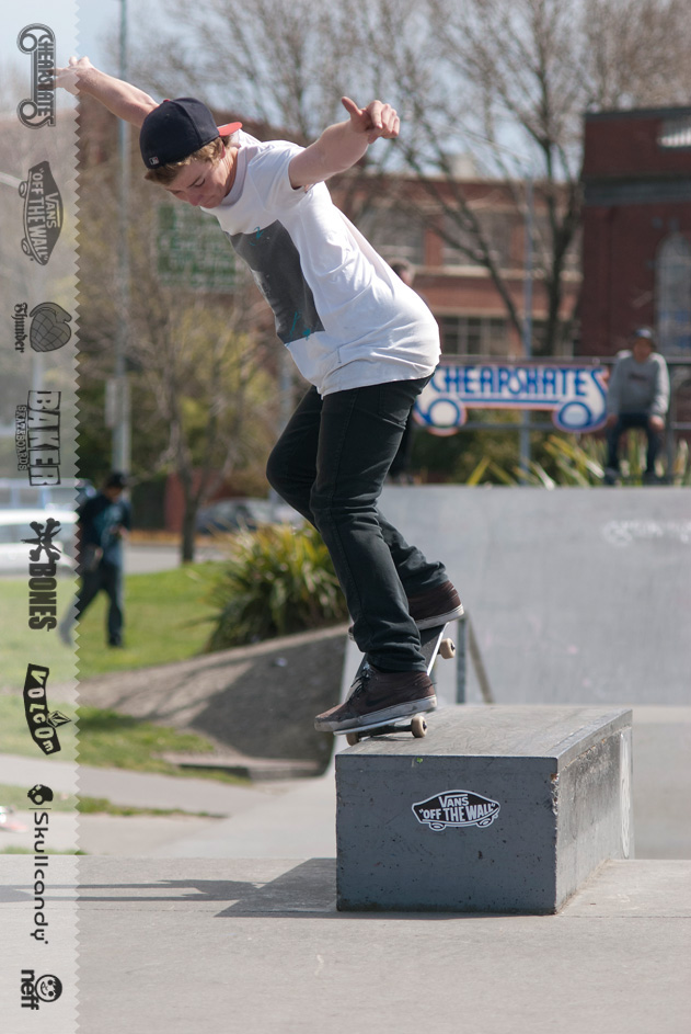 Tom Galligan » BS Nose grind
