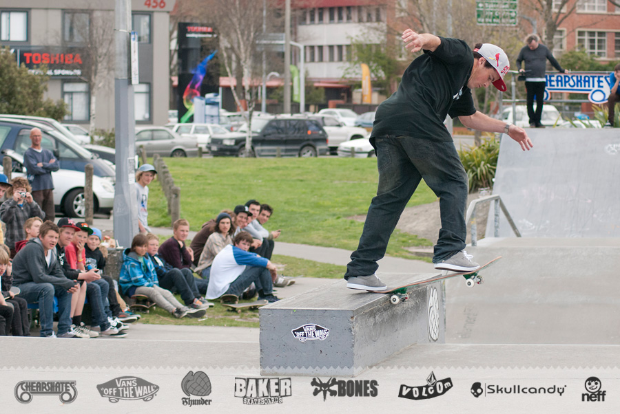 Andrew 'Chunks' Norton » Back tail