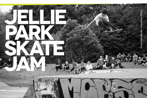 Upcoming Event: Jellie Park Skate Jam