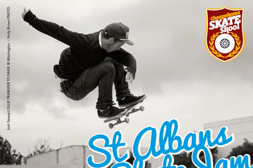 Upcoming Event: St Albans Skate Jam