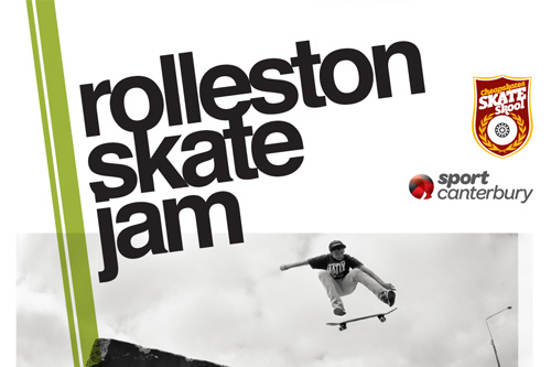 Upcoming event – Rolleston Skate Jam