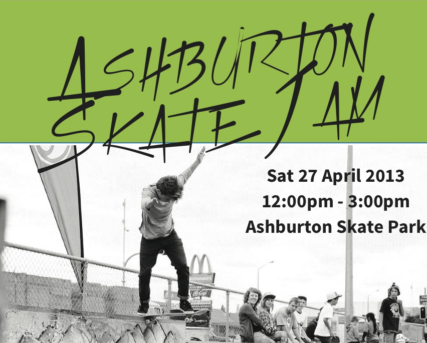 Upcoming Event – Ashburton Skate Jam