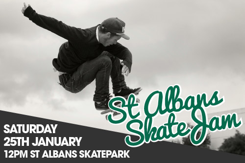 Upcoming Event – St. Albans Skate Jam