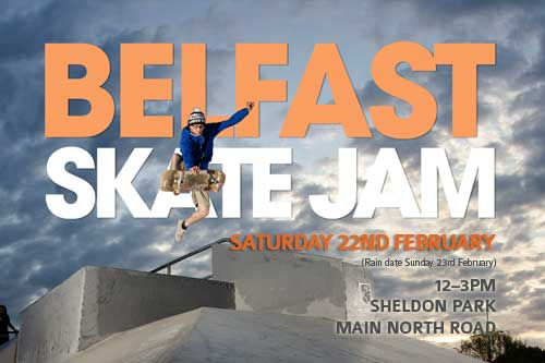 Upcoming Event – Belfast Skate Jam
