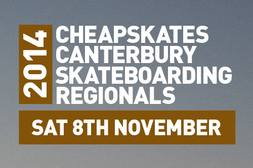 Upcoming Event – 2014 Cheapskates Skateboarding Regionals