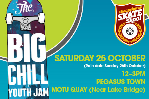 Upcoming Event – The Big Chill Youth Jam @ Pegasus