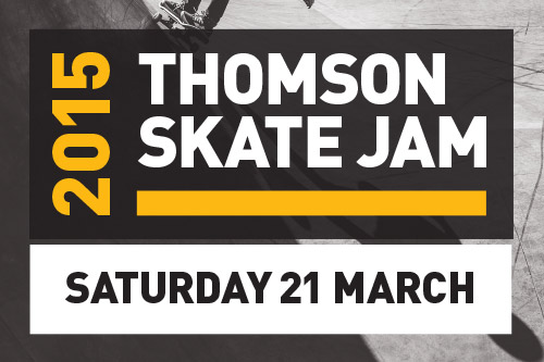 Upcoming Event – Thomson Skate Jam